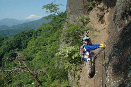 兜岩から富士