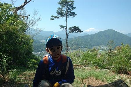 天神山から富士
