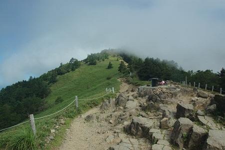 介山荘から大菩薩峠