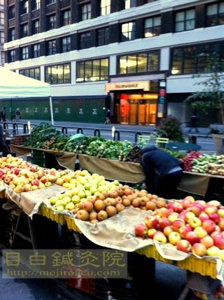 朝の市場NY2013