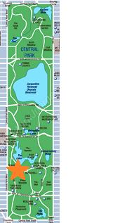 セントラルパークちっちゃい地図2013