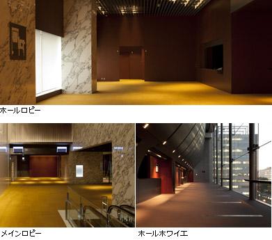 ホールの内部