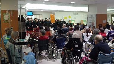 駒込病院のクリスマスコンサート
