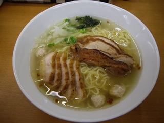 富白 鶏ぶた拉麺