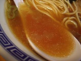 中華そば おかめ 中華そば[魚介系](スープ)