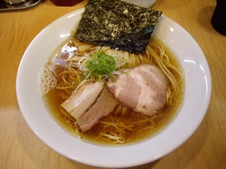Japanese Soba Noodle 蔦 煮干そば