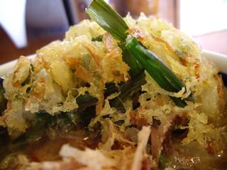 麺屋阿闍梨 阿闍梨一番だし(かき揚げ)