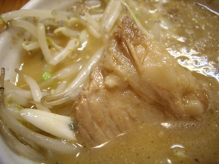 味噌麺 高樋兄弟 味噌つけ麺(具)