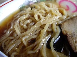 のんきや 手打中華そば(醤油)(麺)