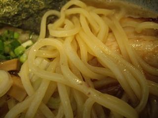麺屋不動 らーめん(麺)