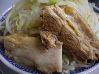 鶏とふじ 塩(豚)
