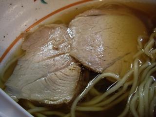 地鶏ラーメン 自給屋 醤油ラーメン(チャーシュー)