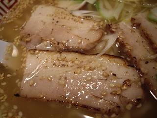 東京肉そば 力屋 肉そばしお(チャーシュー)