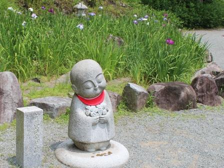 菖蒲園で (4)