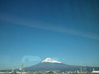 20121116今日の富士山と空