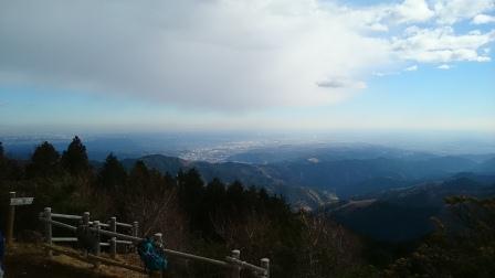 20141214⑥日の出山頂上2