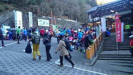 20141214②御岳山ロープウェイ滝本駅
