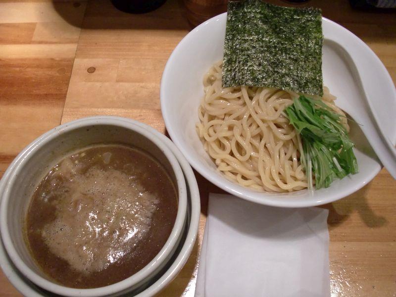 まごころ厨房@木場・20130101・濃い煮干しつけ麺