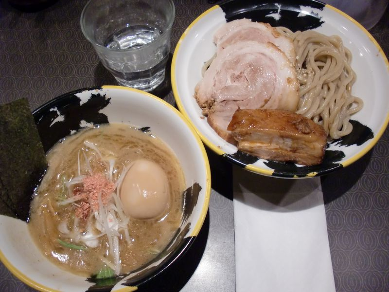 巌虎@秋葉原・20130107・伊勢海老つけ麺