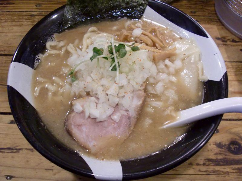 凪 新宿煮干し@新宿・20130114・塩ラーメン