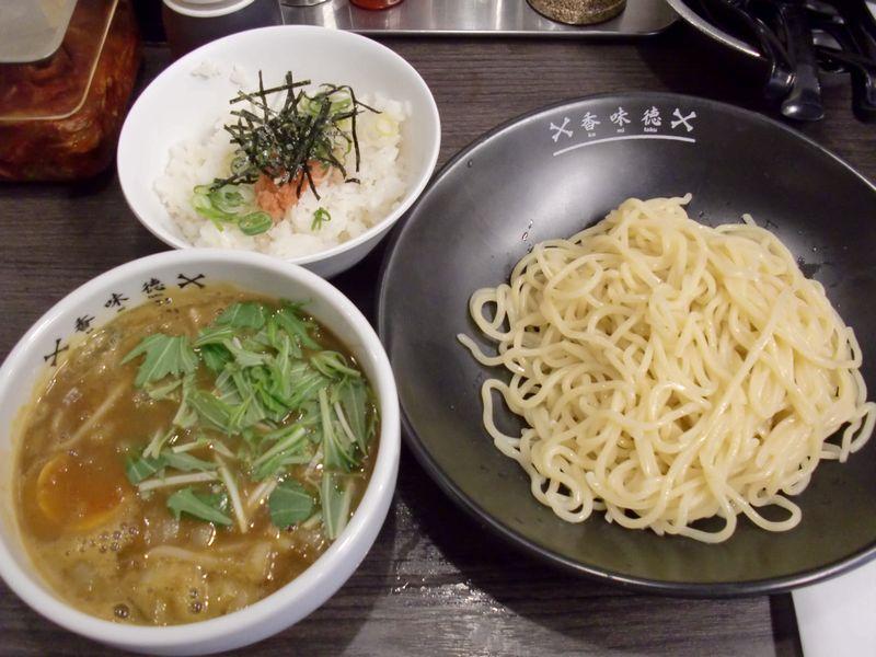 香味徳@銀座一丁目・20130213・カレーつけ麺