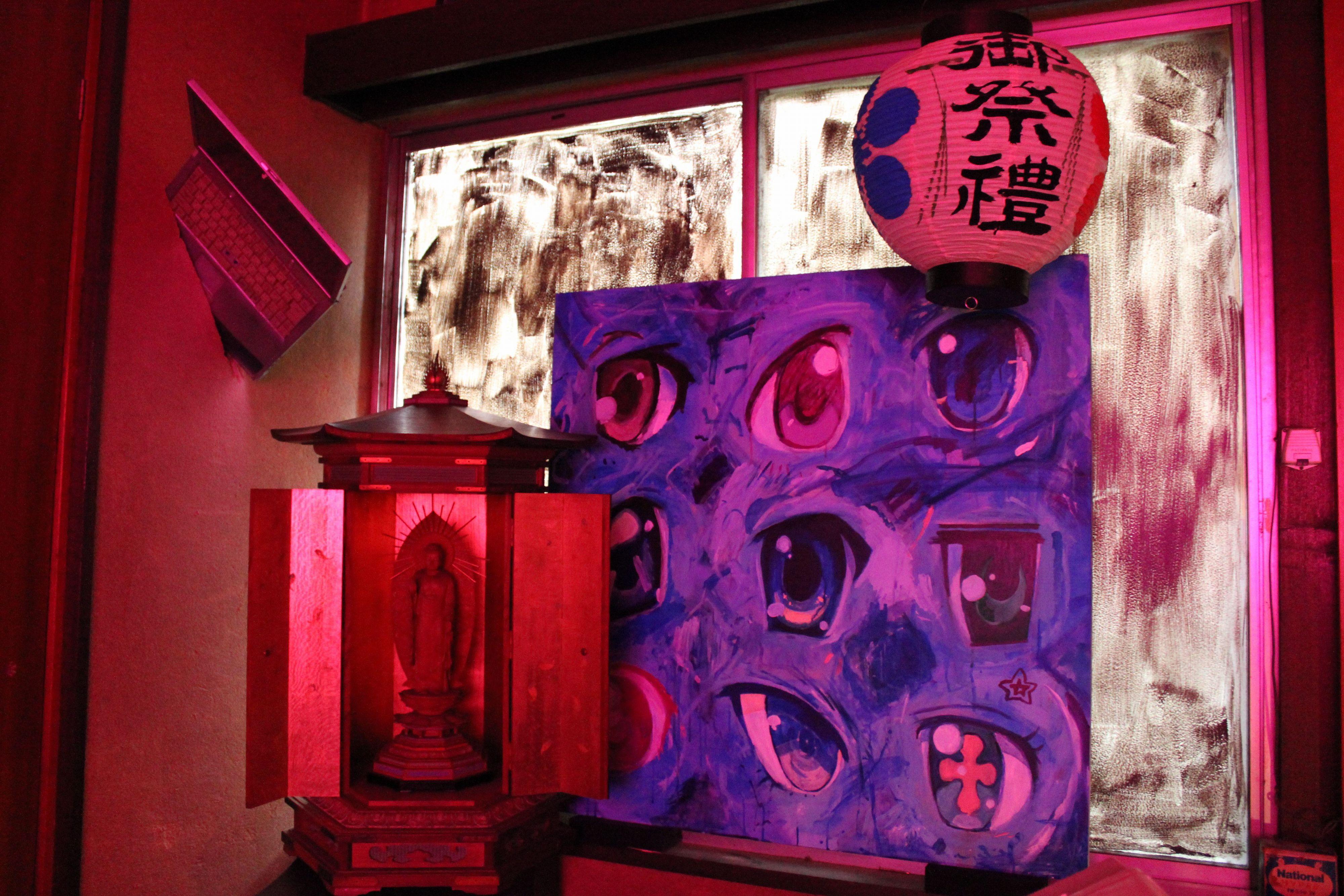 「キャラクラッシュ!」展~現代アート集団「カオス*ラウンジ」によるインスタレーションの展示!取り壊し目前の木造一軒家にて繰り広げられる偶像破壊の芸術祭!