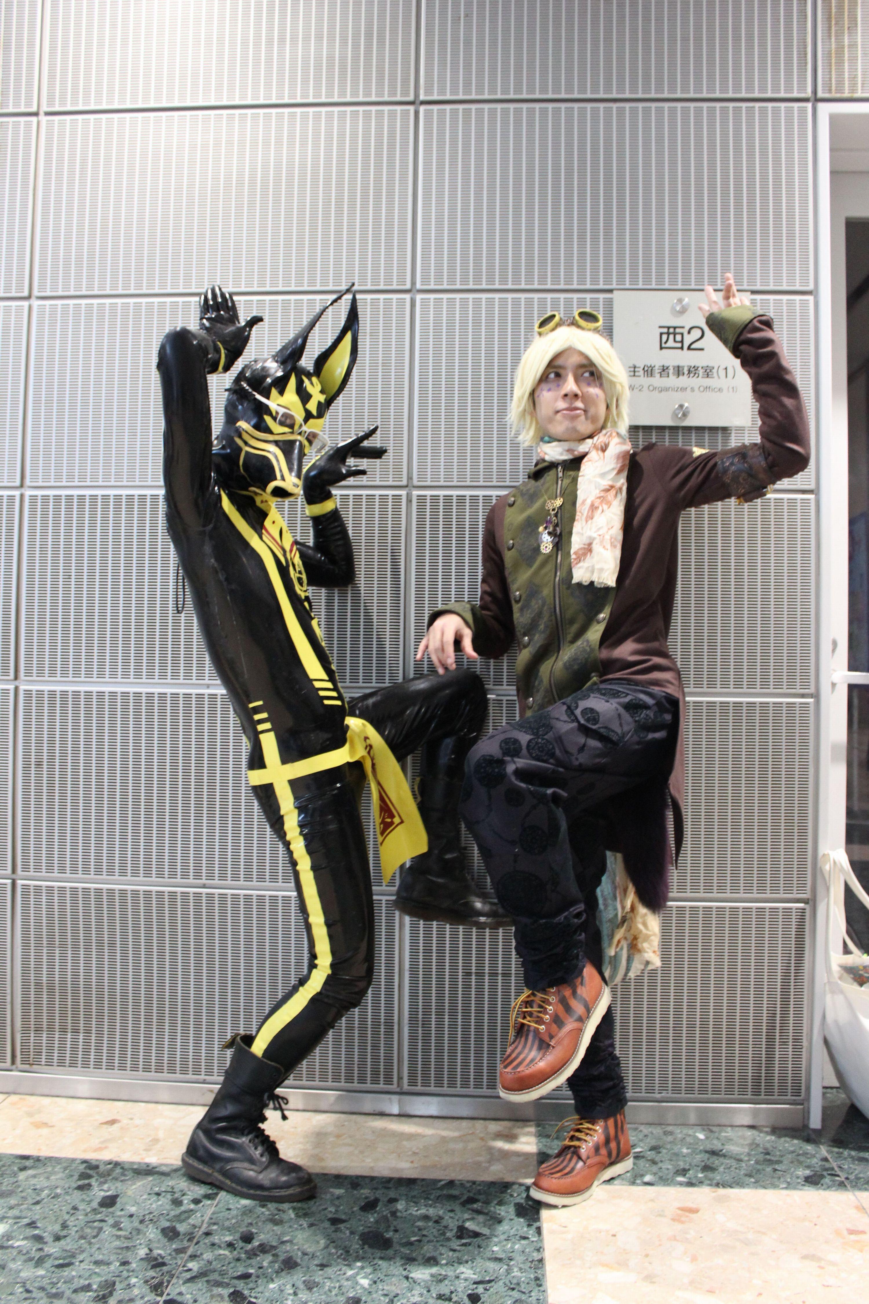 デザインフェスタvol.40~魅力的な装いが生み出す夢の世界~狐・異形頭・ペストマスク・スチームパンク・ローカルヒーロー~