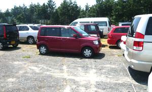 ウォーランド駐車場