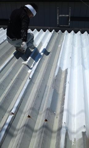 未来住建 リフォーム屋根塗装5月23日①源さん6号縮小