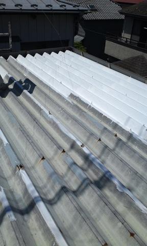 未来住建 リフォーム屋根塗装5月23日②源さん6号縮小