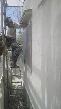 未来住建 リフォーム外壁塗装5月23日①源さん2号縮小