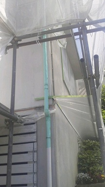 未来住建 リフォーム外壁塗装5月23日②源さん2号縮小