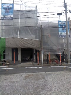 未来住建 リフォーム外壁塗装源さん4号5月24日①