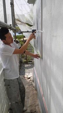 未来住建 リフォーム外壁塗装5月27日②源さん2号縮小