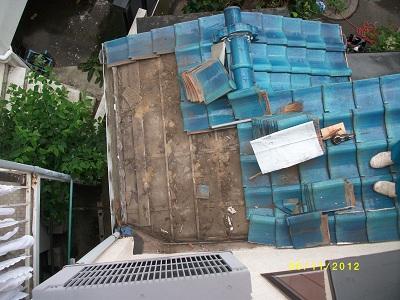 みらい住建 リフォーム瓦積み直し6月11日①縮小