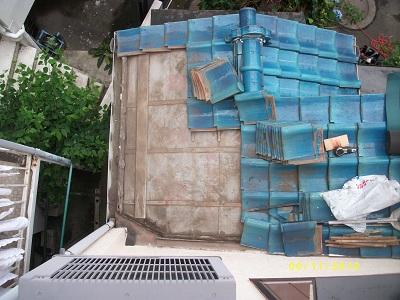 みらい住建 リフォーム瓦積み直し6月11日②縮小