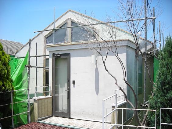 みらい住建 リフォーム外壁塗装(施工前)
