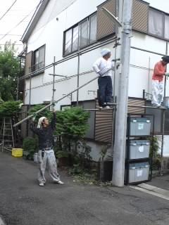 みらい住建 リフォーム外壁塗装25日6号②