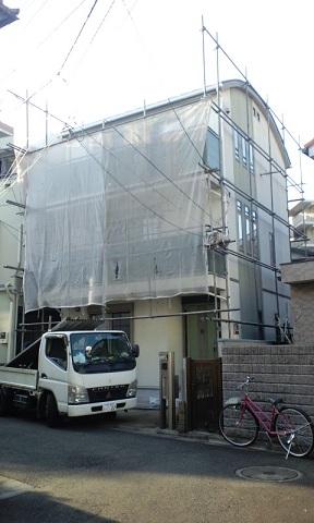 みらい住建 外壁塗装 1月8日 3号①syukusyou