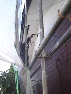 みらい住建 外壁塗装6号11日①