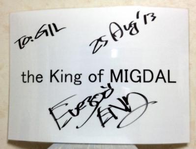 称号とサイン