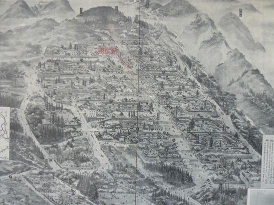伊香保温泉図