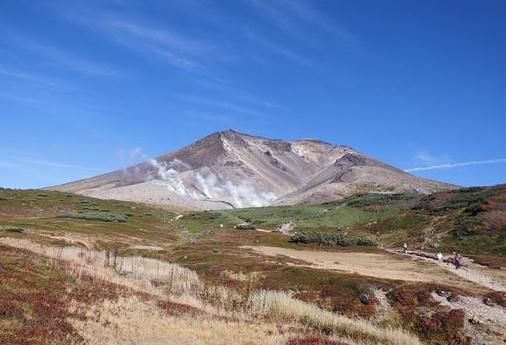 下りルートからの旭岳25