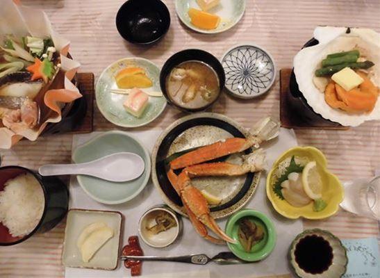 温根湯ホテル四季平安の館・夕食