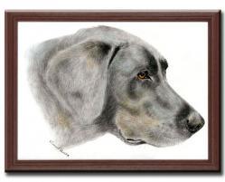 ペット肖像画 犬