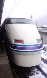 鬼怒川は今日、雪だった~