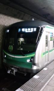 千代田線16000系初の日立製車両! 16113F
