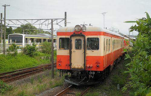 いすみ鉄道キハ52 125+キハ28 2346(2013年6月30日・大原駅)