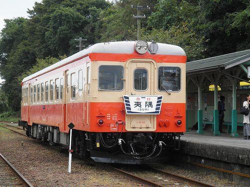 いすみ鉄道キハ52 125(2011年10月1日・大多喜駅)