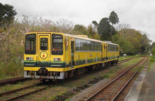 いすみ鉄道・いすみ206+202(2013年4月6日・国吉駅)